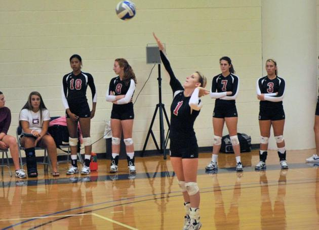Quakers Take Two Volleyball Wins at Salem College