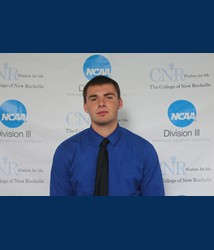 Schenkel receives Association of Division III Independents men's basketball Player of the Week award