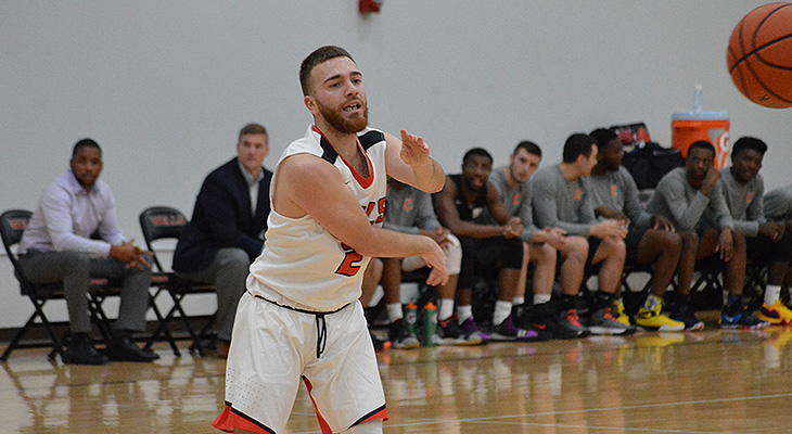 Cold Shooting To Start Sinks Men's Basketball