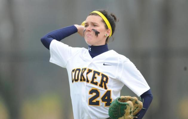 Coker Splits Season Opener in Wingate Double-Header