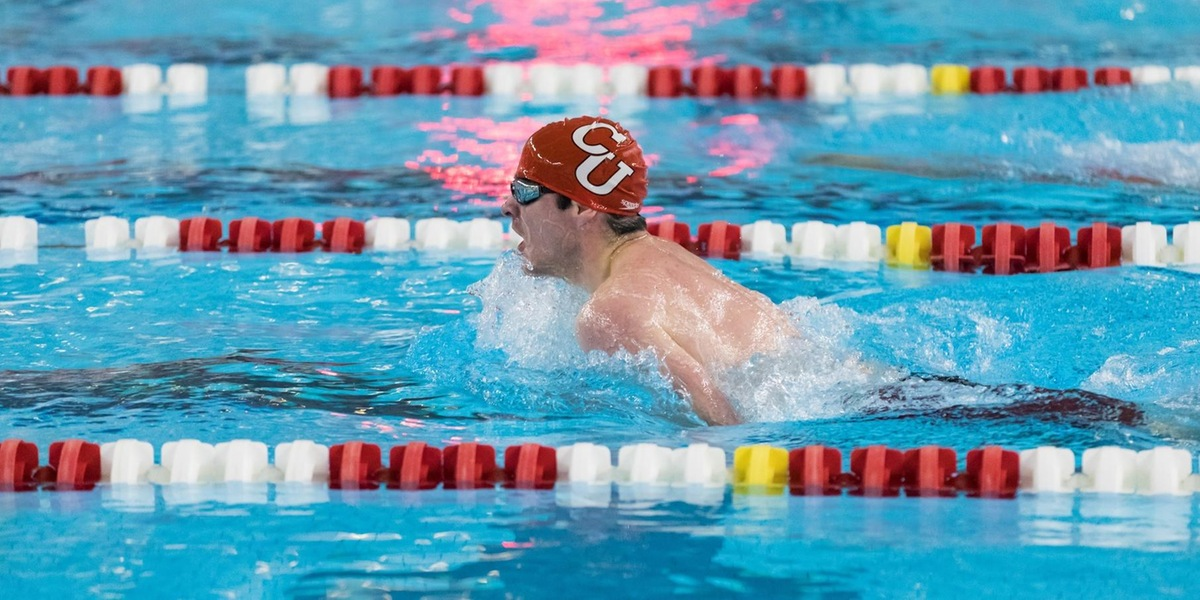 Men's Swimming and Diving Suffers Setback to Babson in First Home Meet