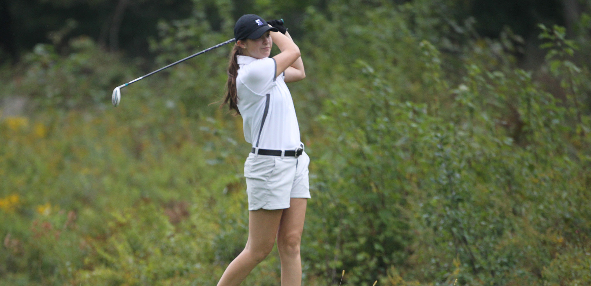 Freshman Emma Nemitz led Scranton with a 96 on Saturday at the Susquehanna Invitational. © Photo by Timothy R. Dougherty / doubleeaglephotography.com