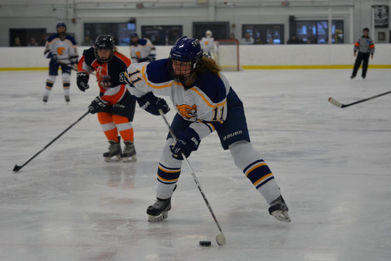 JWU Women's Ice Hockey Falls 3-0 to Salem State In Home Debut