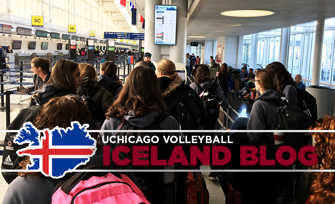 UChicago Volleyball Iceland Blog: Day 1
