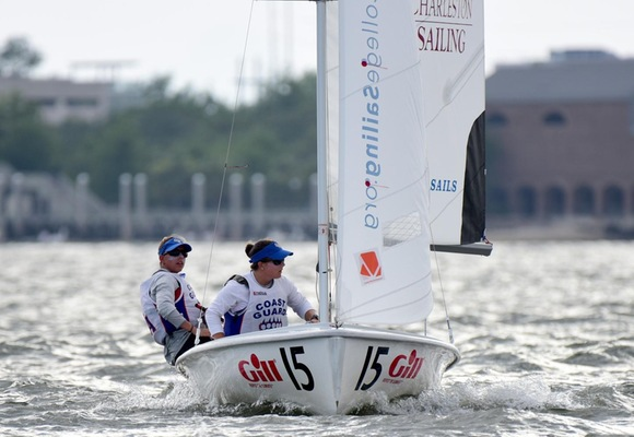 Coed Sailing Third After Day One of National Championship Semifinals