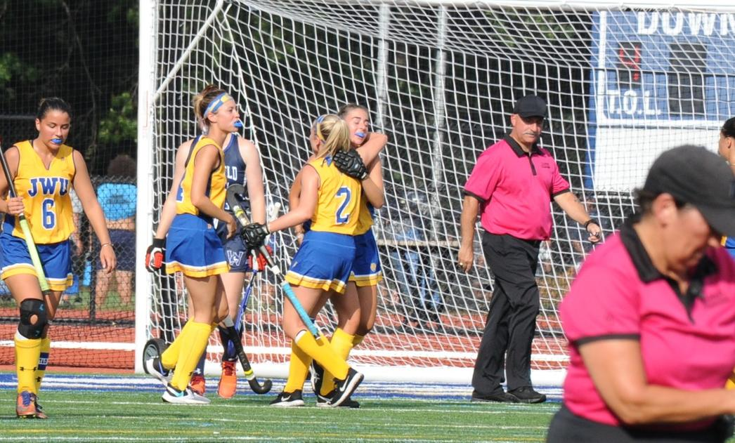 Johnson & Wales Field Hockey Conquers Westfield State 3-0