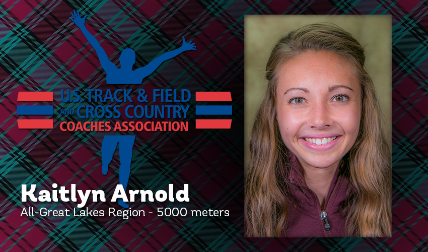 Arnold earns All-Region honors from USTFCCCA