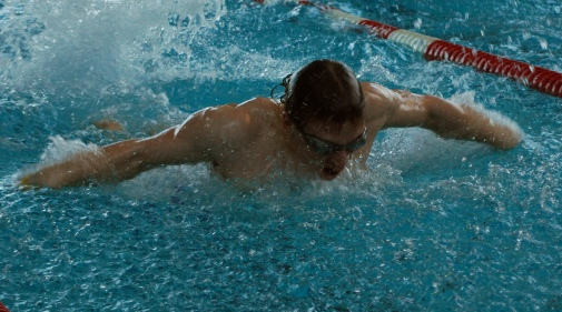 Men's Swim Team in Ninth Place at NEISDA Championships