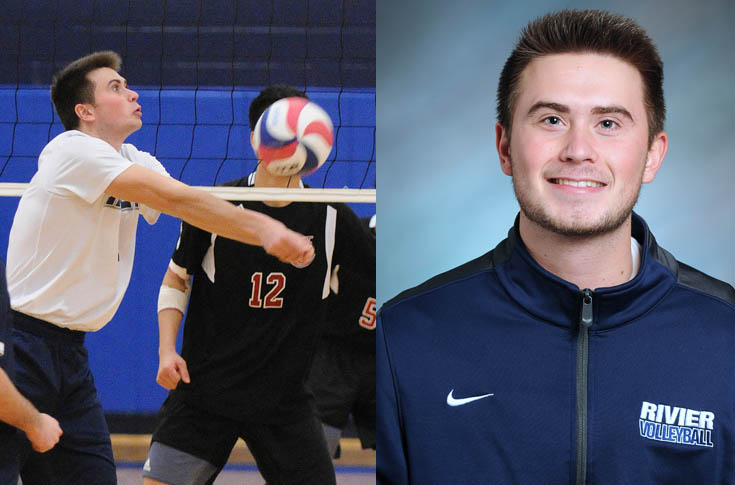 Men's Volleyball: Bucklin named GNAC Defensive Player of the Week