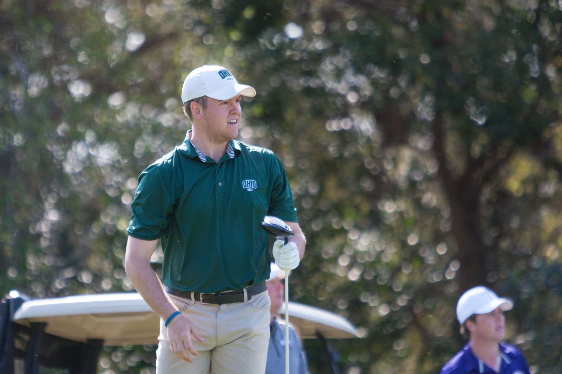 Ohio Men's Golf In Eighth Place After Two Rounds Of The Invitational At Savannah Harbor