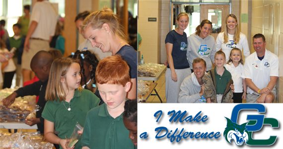 GC Tennis Makes a Difference at Local Bake Sale