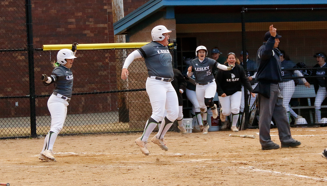 Softball Split with Beacons