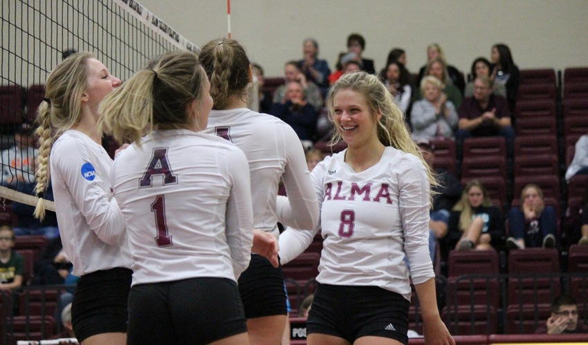 Volleyball earns victory over Olivet