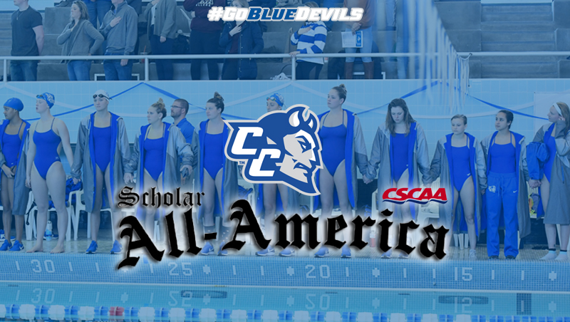 Women's Swimming & Diving Recognized for Spring Academic Performance