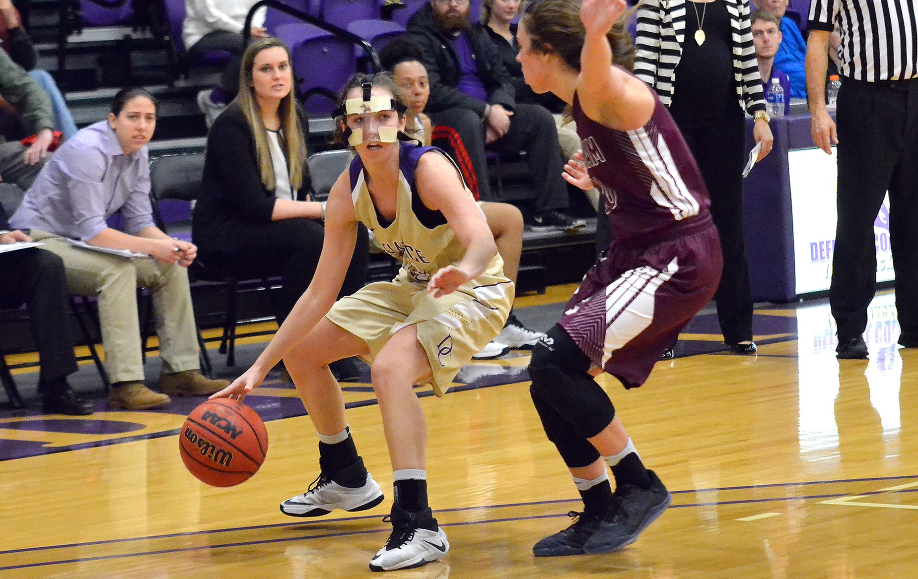 Defiance Women Post Five in Double Figures in Win