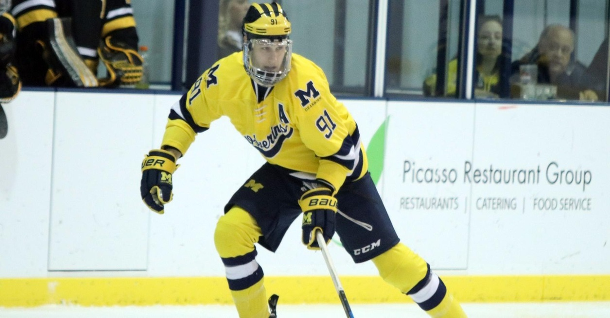 Groat scores 100th, Wolverines fall to DU