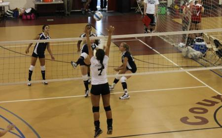 Women's Volleyball Finishes Fourth in USCAA Classic