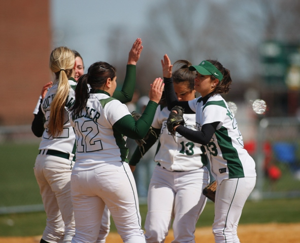 Rams Sweep Hunter in Non-Conference Doubleheader