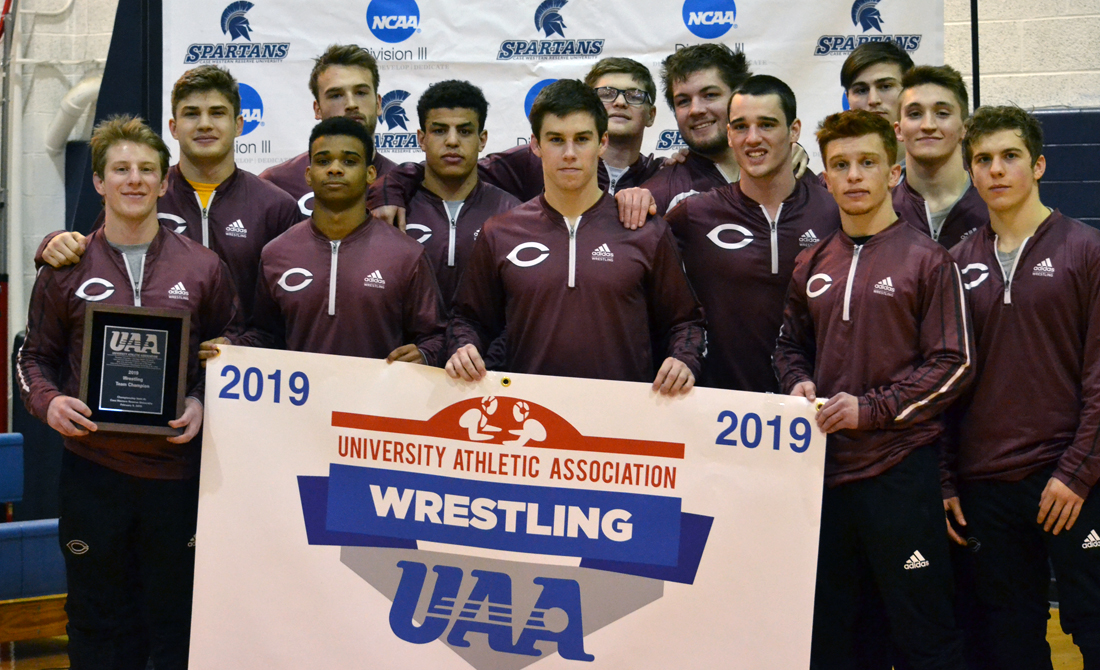UChicago Wrestling Dominates Competition En Route to 17th UAA Championship