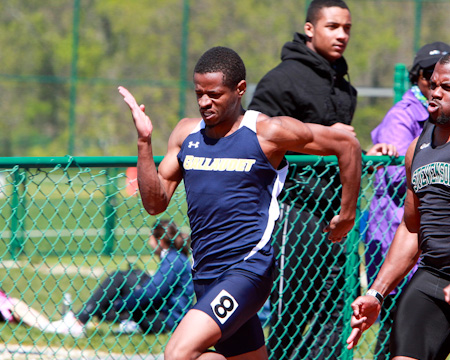 Bison men's track and field team continues to improve as GU competes at Paul Kaiser Classic