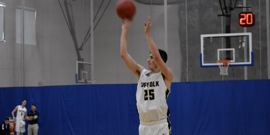 Men's Basketball Moves into First Place in the GNAC, Defeats Emmanuel, 90-81