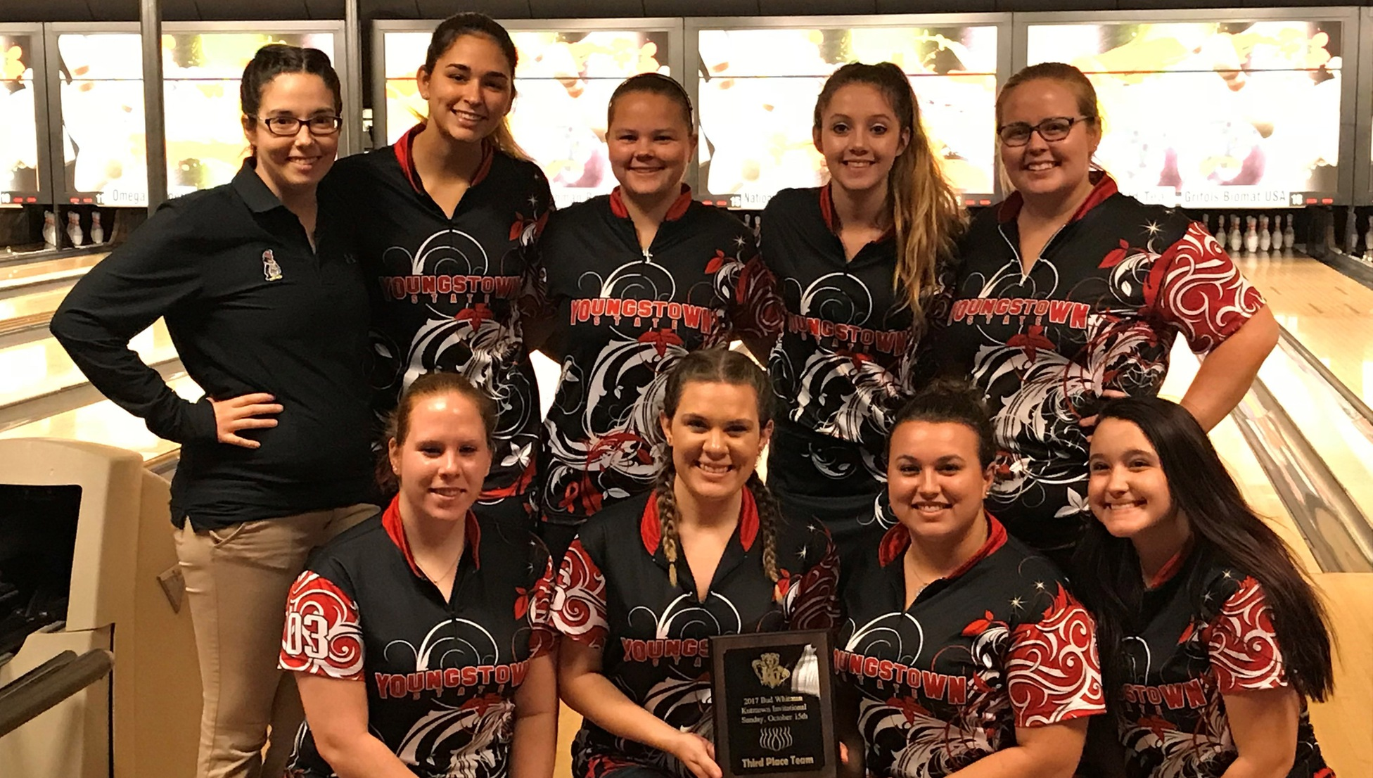 The YSU bowling team earned a third-place finish in traditional play at the Bud Whitman Memorial