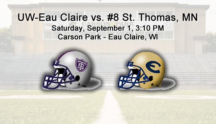 Football Preview: UW-Eau Claire vs. No. 8 St. Thomas