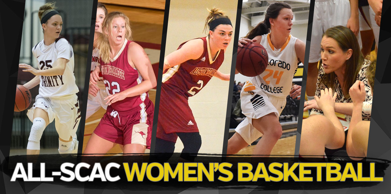 Austin College's Frank and Filander; Trinity's Weaver Headline 2017-18 All-SCAC Women's Basketball Selections