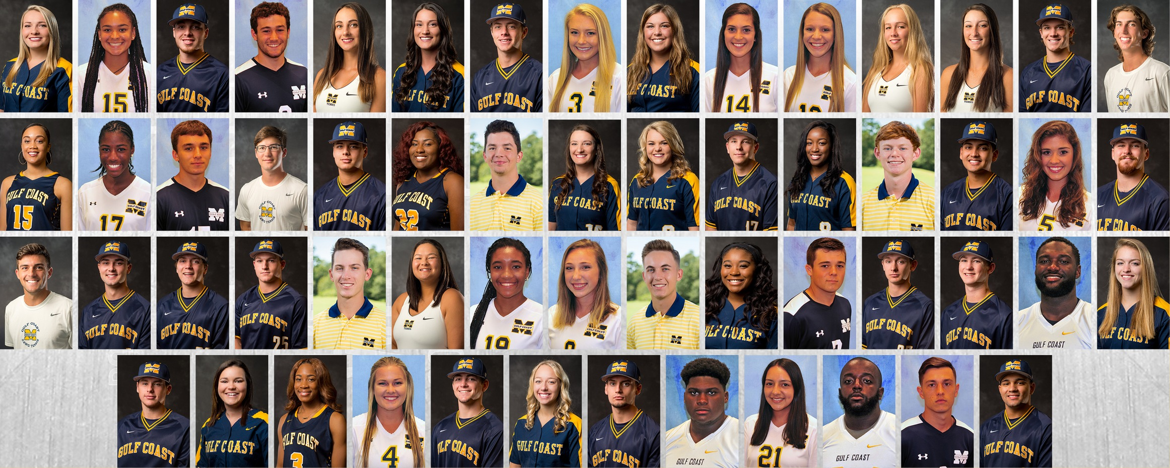 57 MGCCC student-athletes earn NJCAA academic award