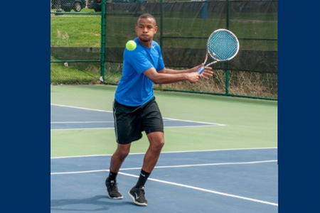 Men's tennis team clinches winningest season in program history with 5-4 victory over Vaughn College