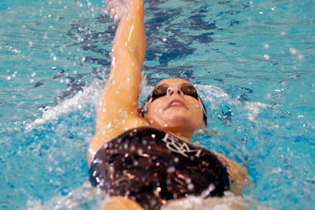 Swimmers Open Season at Hopkins