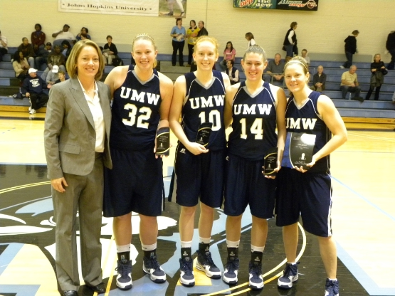 UMW Women's Basketball Tops Johns Hopkins, 54-49, to Win Mike Durgala Memorial Tourney
