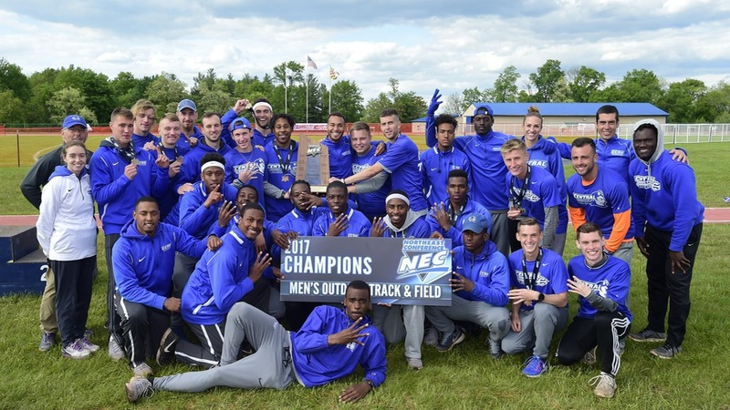 Make it Four, Men's Track Crowned 2017 NEC Outdoor Champions