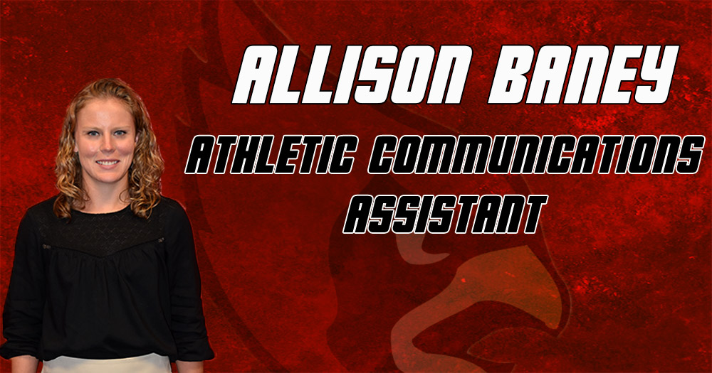 Baney Hired as Athletic Communications Assistant