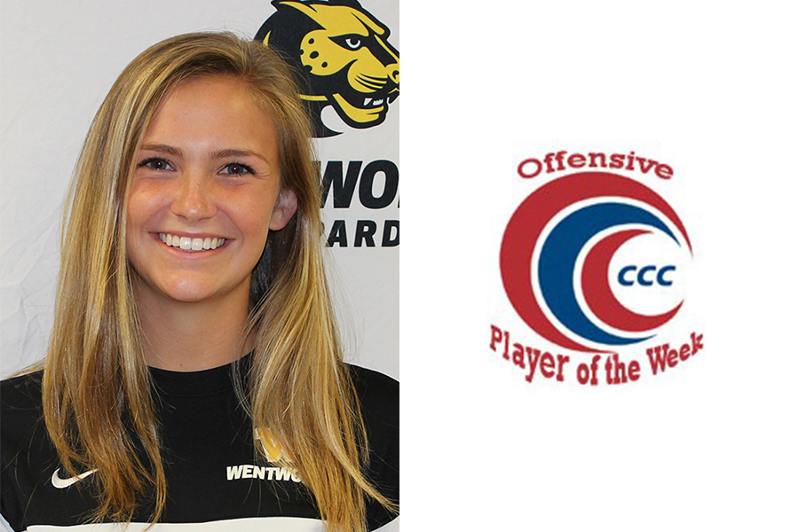Richard Named CCC Offensive Player of the Week