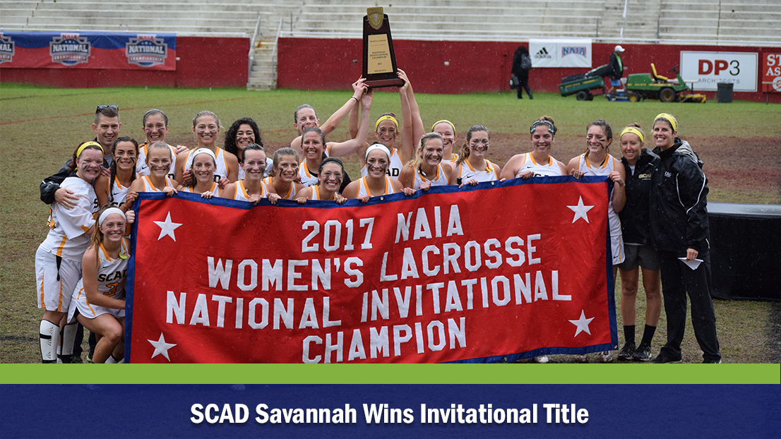 SCAD Savannah Wins Invitational Title