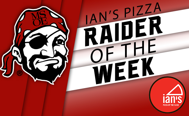 Boyk Named Ian's Pizza Raider of the Week