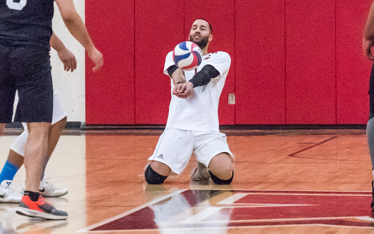 Men's Volleyball Dropped by Emmanuel