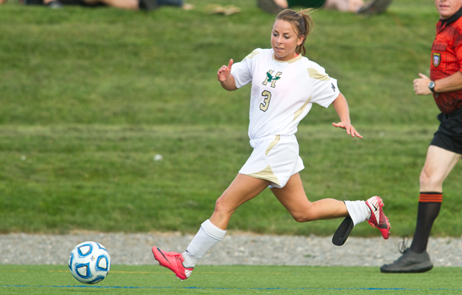 Husson Women's Soccer Stumbles at Castleton