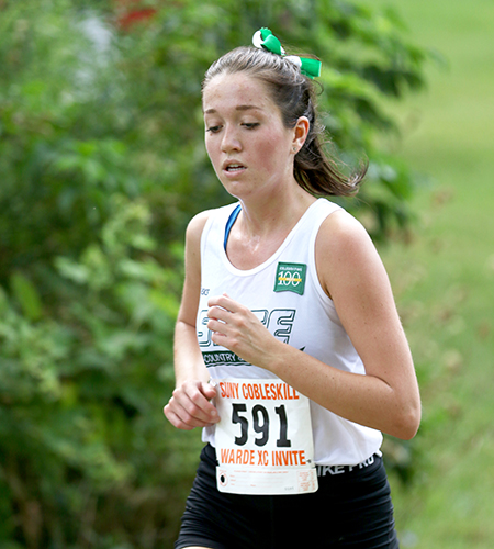 Sage women's cross country team runs to a strong showing at MSMC Knight Invitational
