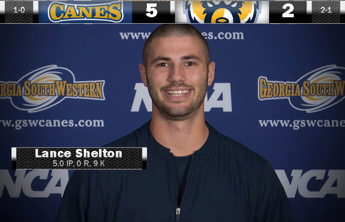 GSW Hurlers Strike Out 15; 'Canes Win Opener 5-2