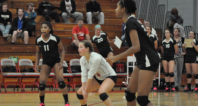 Hornet Volleyball Battles to Four-Game Loss