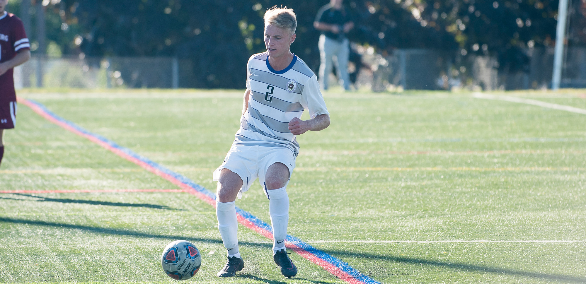 Senior Michael Bergen had two assists in the Royals' win on Saturday.