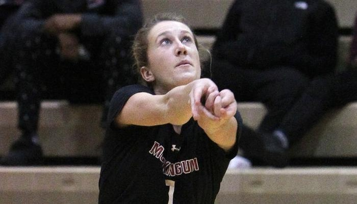 Volleyball clinches home OAC Tournament game