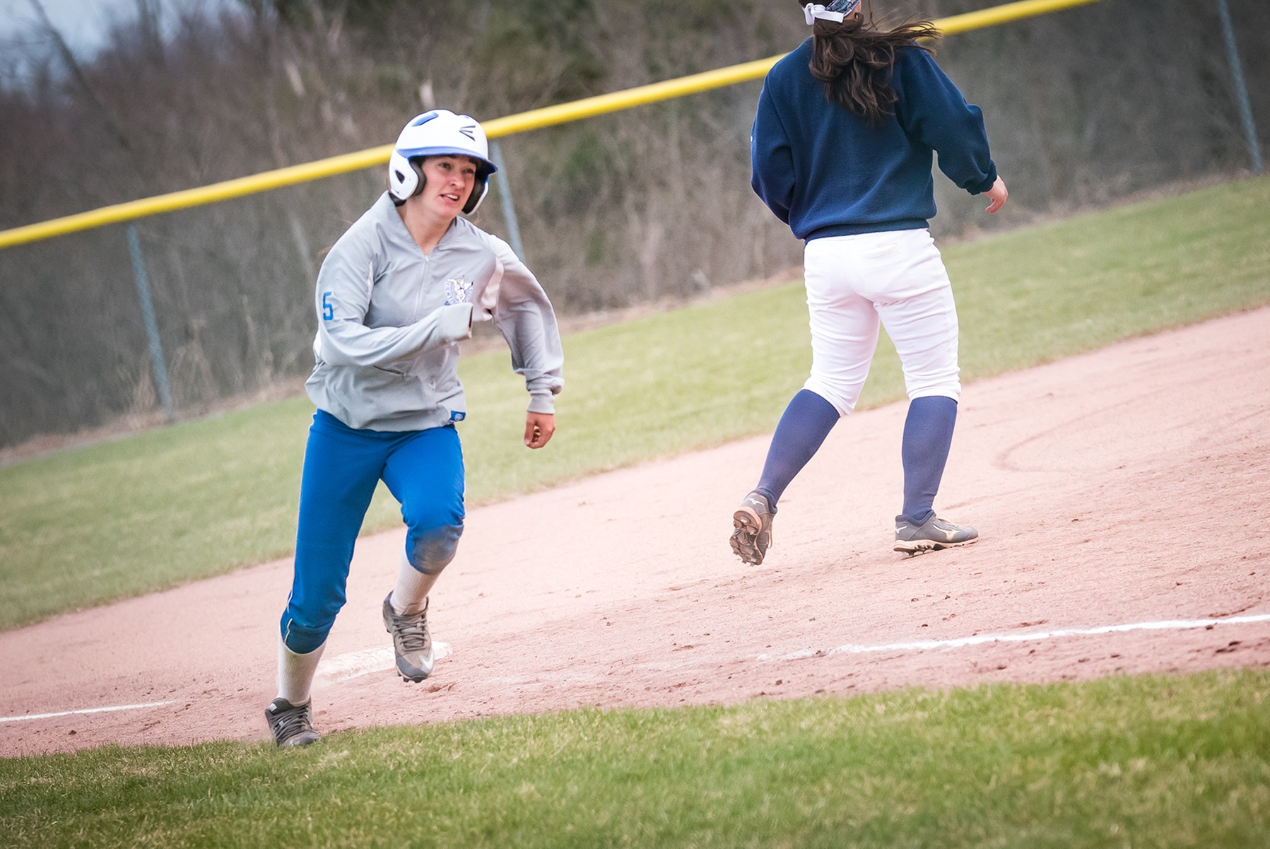Lady Saints come up short in doubleheader against Fisher
