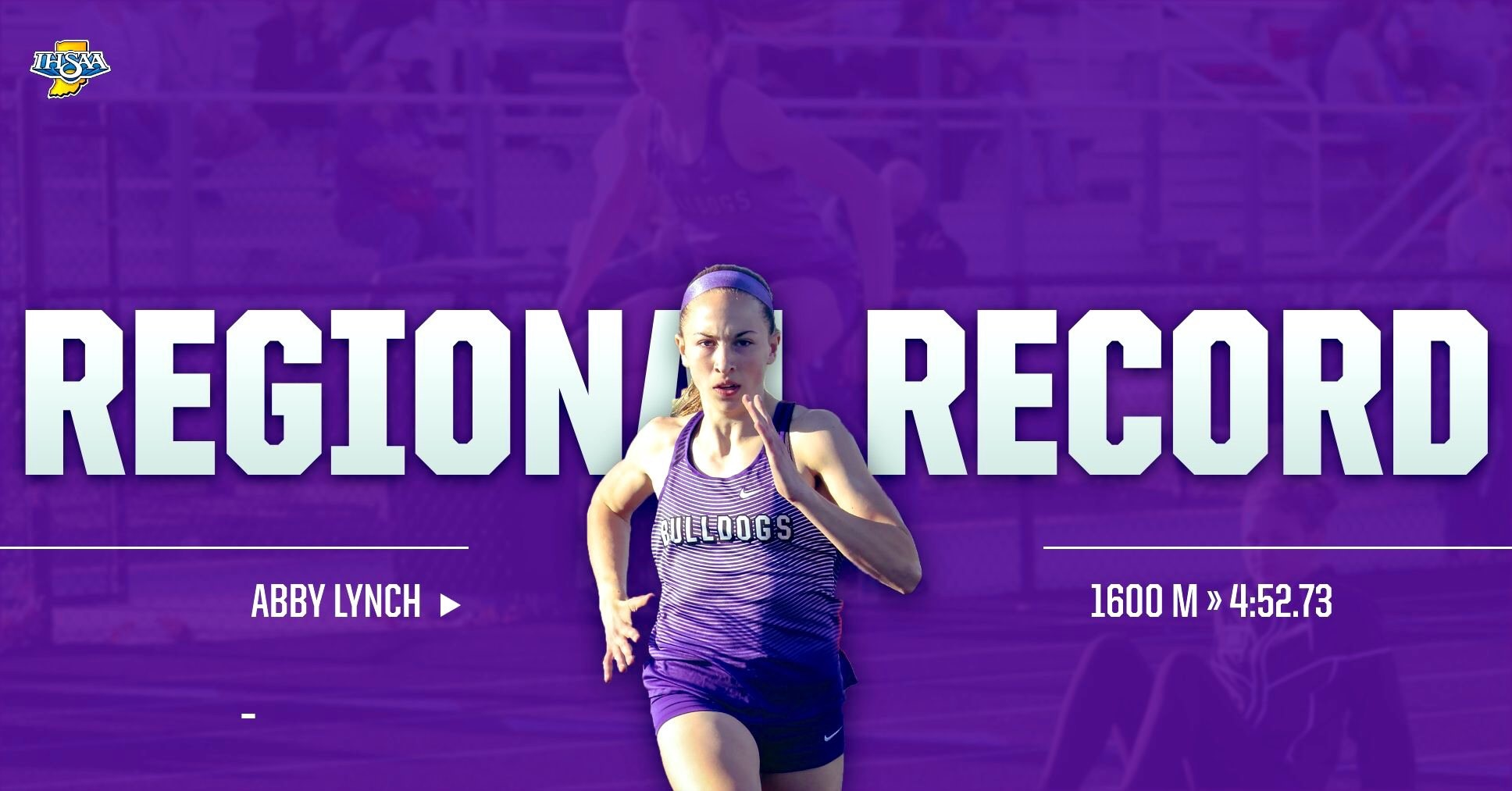 Girls Track & Field Sets Records at Regional