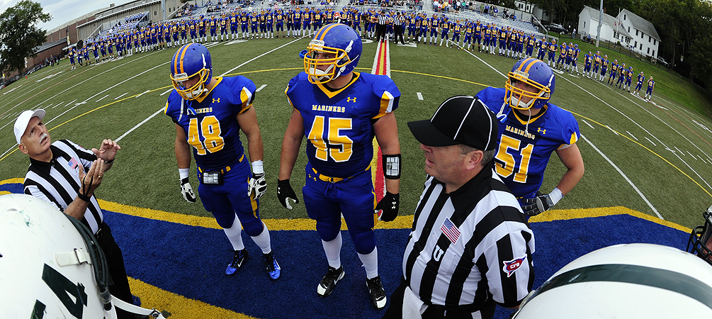 Homecoming 2012: Worcester State (3-1, 1-0 NEFC) at Maine Maritime (0-3, 0-1 NEFC)
