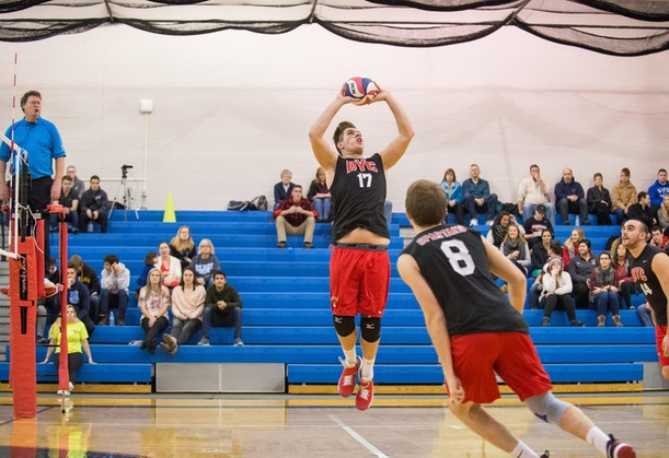 D'Youville Volleyball Falls to Elmira in Three Sets