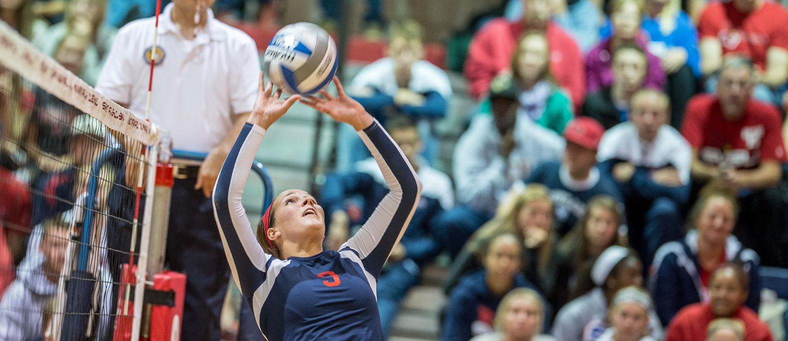 Cardinals Make it Six Straight After Five Set Win at Northern Michigan