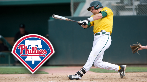 HOSKINS SELECTED BY PHILADELPHIA PHILLIES IN 5TH ROUND OF MLB DRAFT